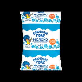Молоко 2.5% ультрапастеризоване ТМ Волошкове поле 900г