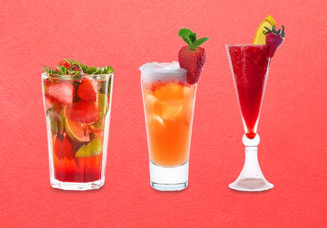 7 соблазнительных идей для коктейля с клубникой