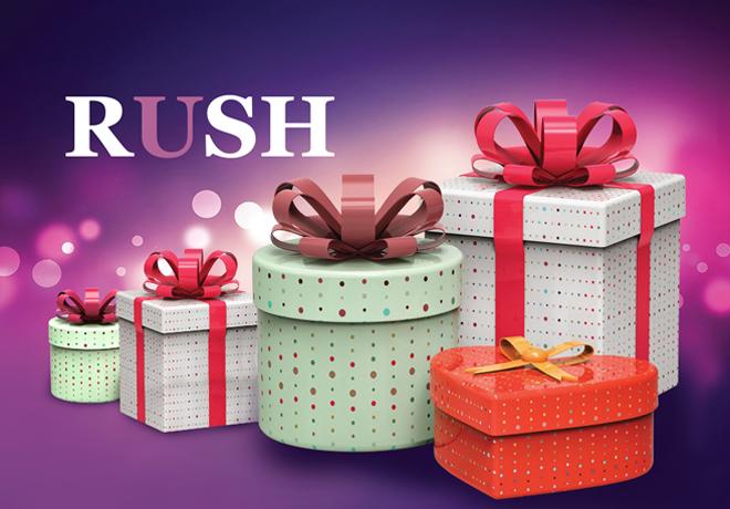 Время Подарков в магазине Rush